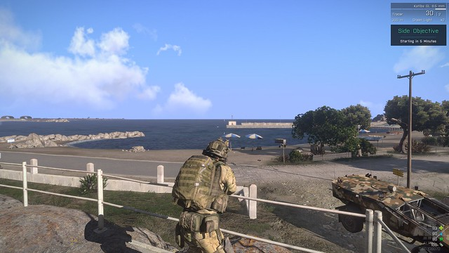 Oooh, a beach