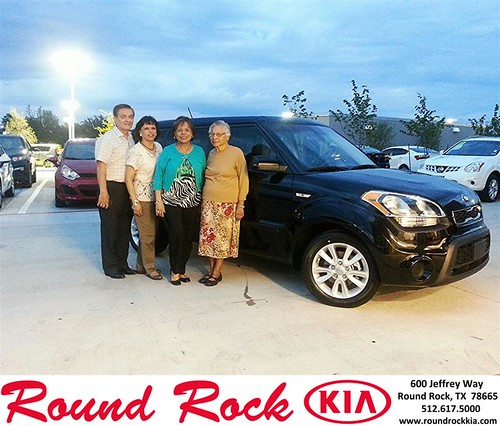 Thank you to Phyllis Easley on your new car from Kelly  Cameron and everyone at Round Rock Kia! #NewCar by RoundRockKia