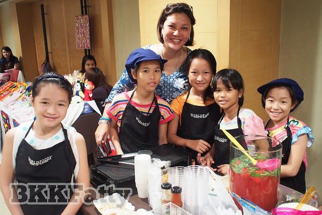 worldfoods at internation creators fair bangkok