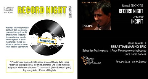RECORD NIGHT 02 |2014 'INCIPIT' by cristiana.piraino
