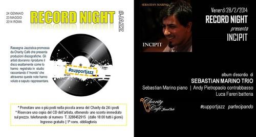 RECORD NIGHT 02 |2014 'INCIPIT' by cristiana.piraino