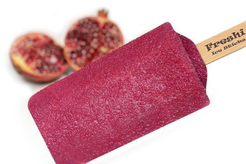 Pomegranate Ice Cream by Freshi Ice Sticks Jeddah Saudi Arabia
