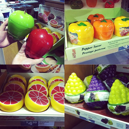 Do you suffer from crushed fruit/vegetable woes? Them these might be something to consider lol so cute xD #instacollage