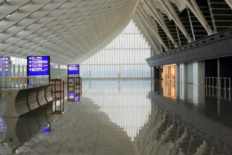 機場,微妙的轉折空間