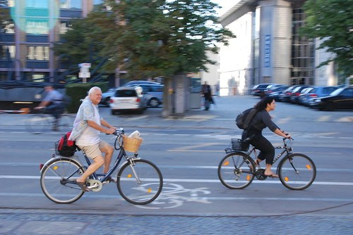 Cycle lane in Freiburg