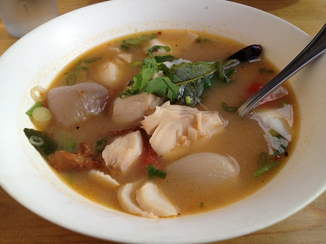 Spicy and sour soup with black cod - Little Uncle