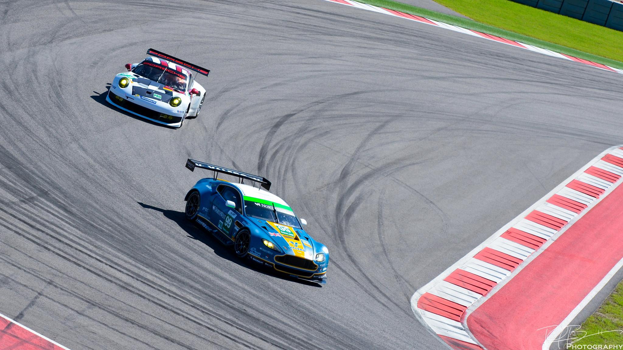 Aston v Porsche