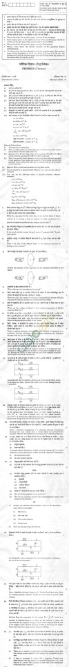 CBSE Compartment Exam 2013 Class XII Question Paper - Physics