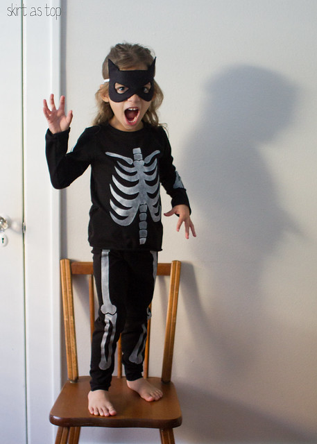 skeleton suit