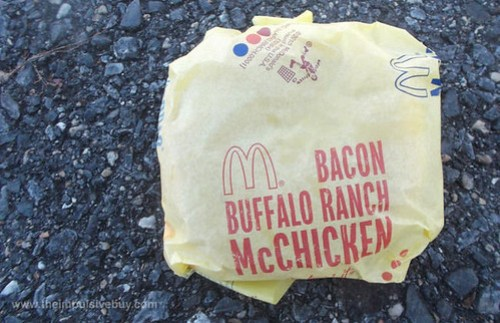 McDonald's Bacon Buffalo Ranch McChicken Wrapper