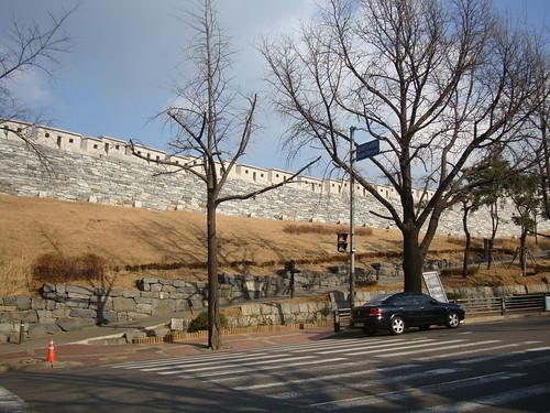 Namsan Stadtmauer Seoul