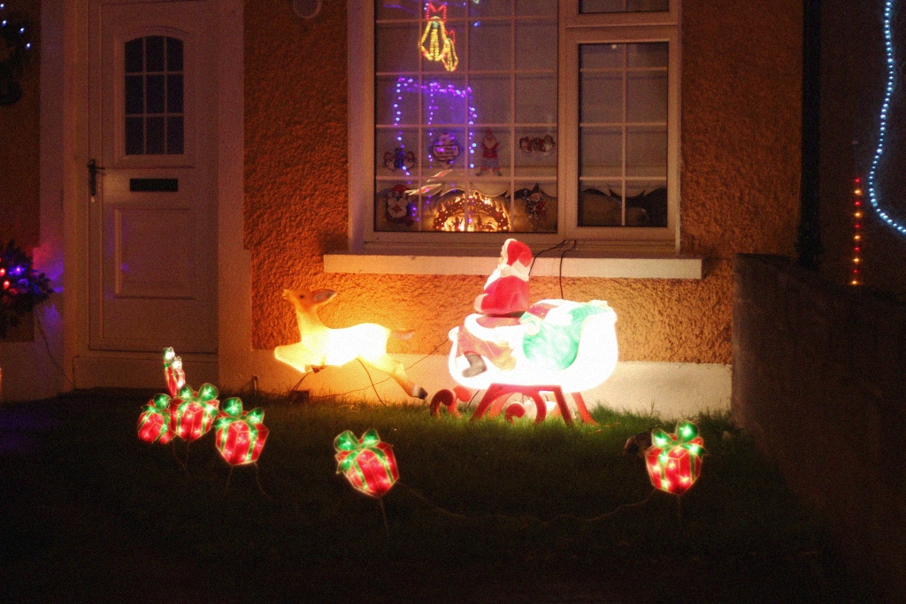 christmas decoration santa drimnagh dublin