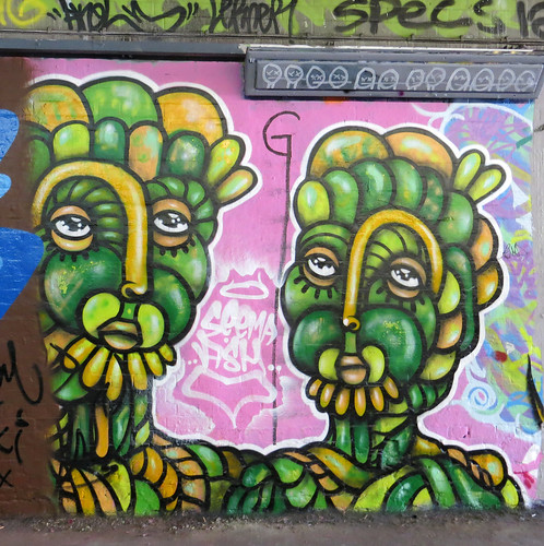 Amarapordios , Leake Street, Waterloo - June 2013