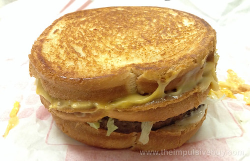 Jack in the Box Stacked Grilled Cheese Burger Munchie Meal