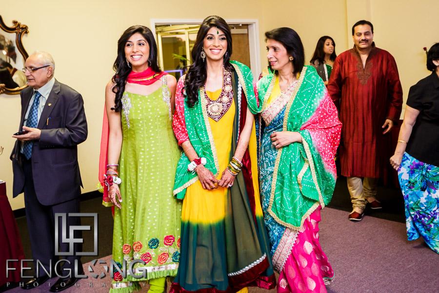 Shai & D's Garba & Pithi Night at Mughal's Banquet Hall | Atlanta Hindu Ismaili Fusion Wedding Photography