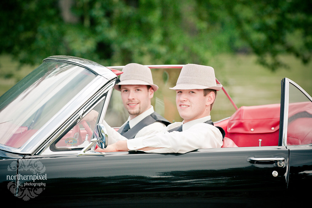 Ford Mustang Wedding Photos