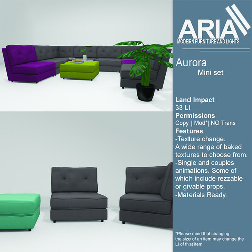 Aurora mini set @ The Garden