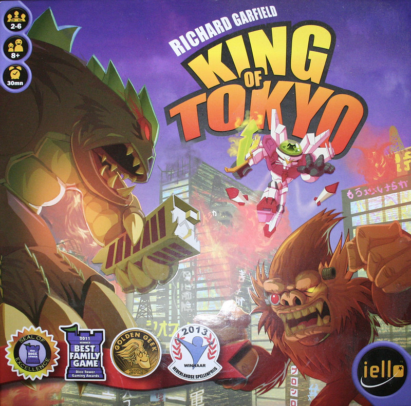 King of Tokyo | Lazy Lady
