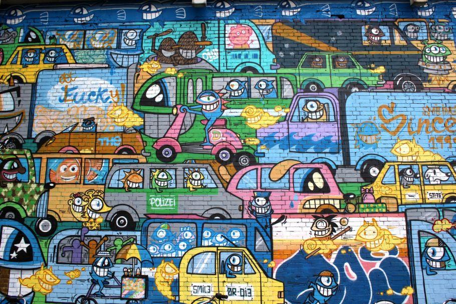 Street art Köln-Ehrenfeld, foto door Michael