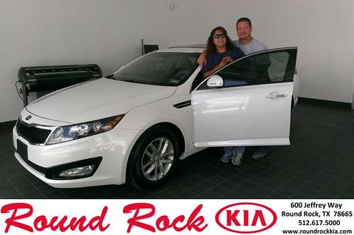 Thank you to Patricia Markert on the 2013 Kia Optima from Ruth Largaespada and everyone at Round Rock Kia! by RoundRockKia