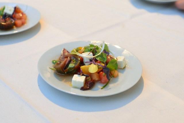 The Little Beet tomato & melon salad, mint, dill, basil
