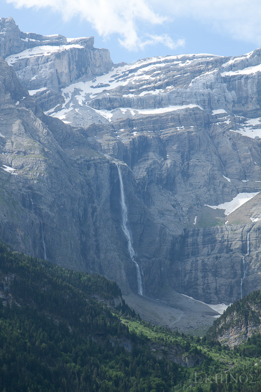 11. Espectacular vista de la cascada de Gavarnie. Autor, Ekuinos