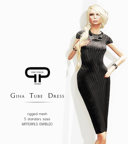 Pure Poison - Gina Tube Dress