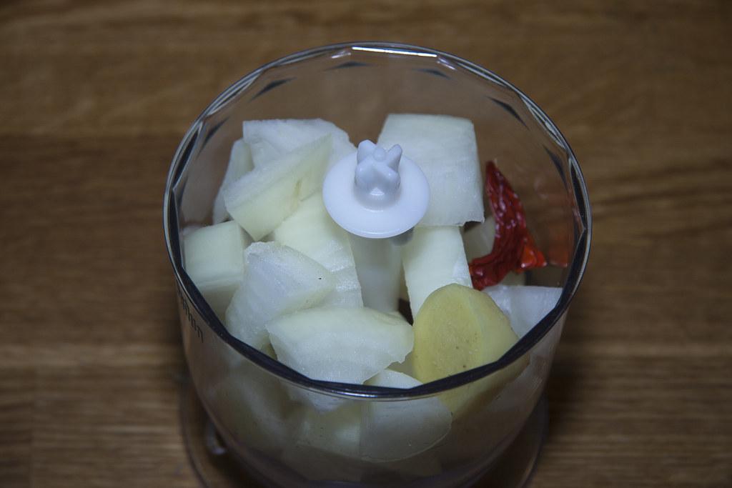onion garlick chilli ginger