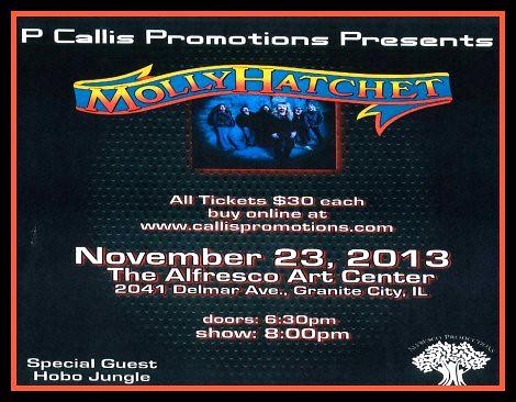 Molly Hatchet 11-23-13