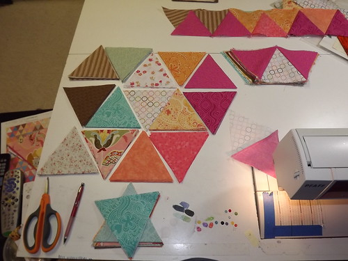 Baby Pyramids in progress