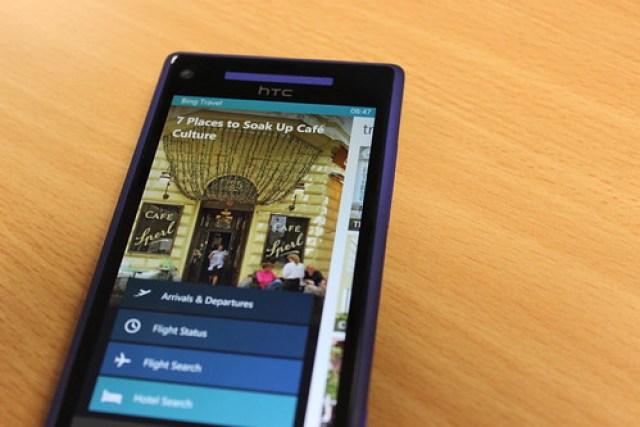 Bing apps on Windows Phone
