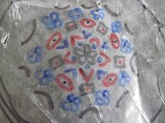 Wax Paper Mandala 2