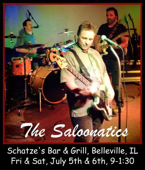 The Saloonatics 7-5, 7-6-13