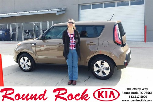 Thank you to Jeri Wade on your new 2014 #Kia #Soul from Roberto Nieto and everyone at Round Rock Kia! by RoundRockKia