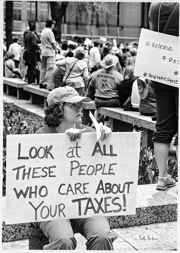 Look At All These People Who Care About Your Taxes