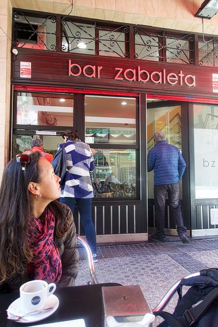 Bar Zabaleta, the home of the best Tortilla de Patatas.