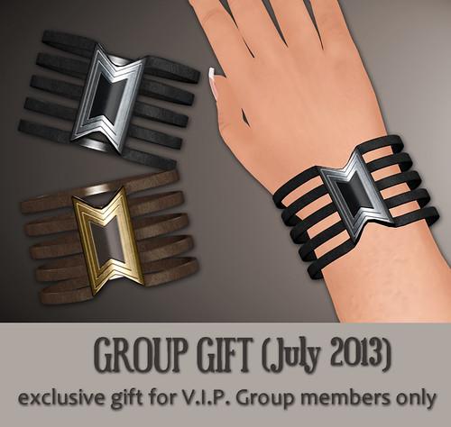 V.I.P. Group Gift July 2013