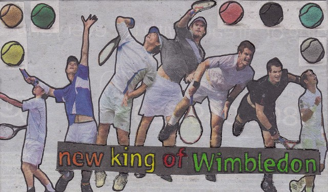 day 38 - new king of wimbledon