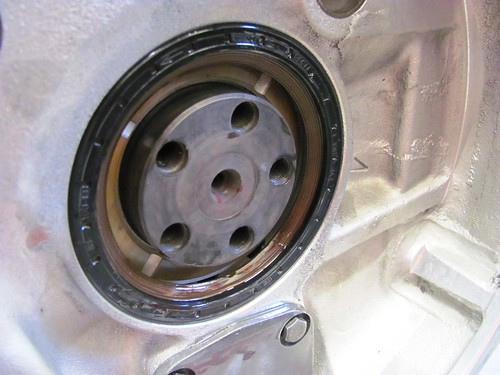 Rear Main Seal Installed