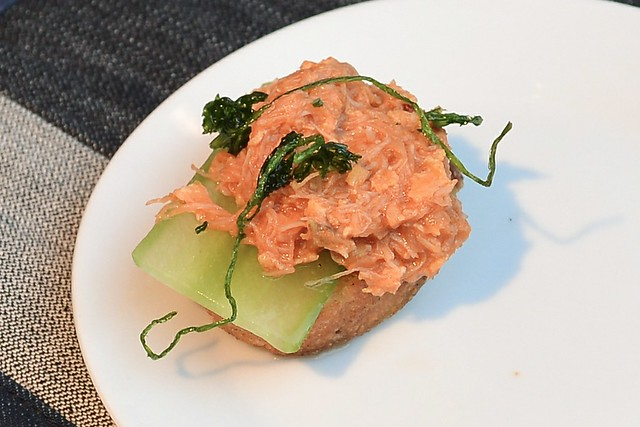 Hinoki & The Bird chili crab toast