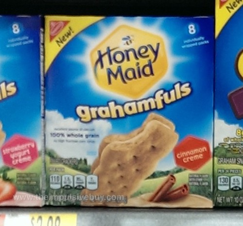 Honey Maid Grahamfuls Cinnamon Creme