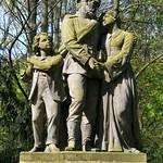 """Der Auszug des Kriegers"" im Berliner Tiergarten (2)"