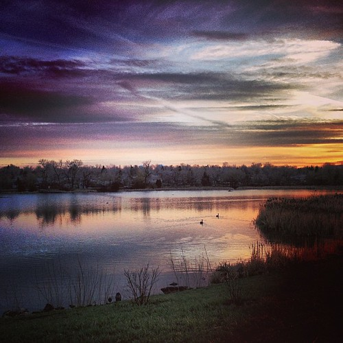 #sunset #denver by @MySoDotCom