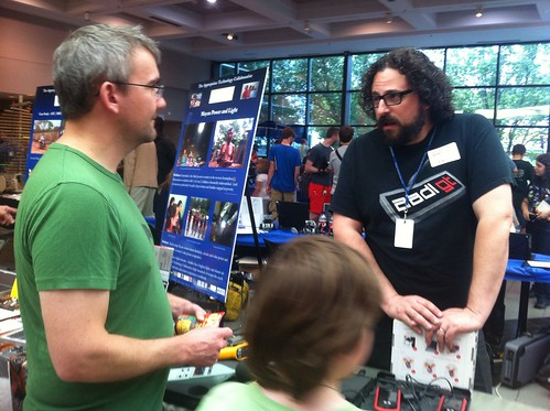 Ann Arbor Mini Maker Faire 2013: Eli Neiberger of AADL