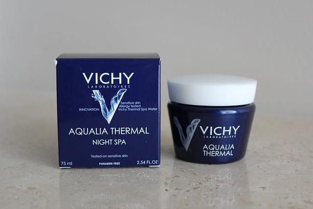 Vichy Aqualia Thermal Night Spa review