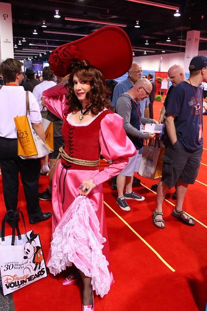 2013 D23 Expo Disney costume cosplay