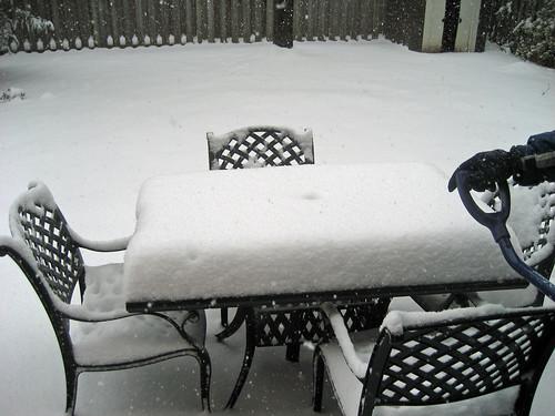 December snow storm