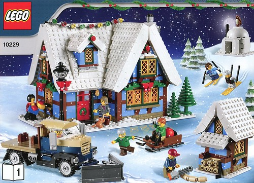 LEGO 10229 Winter Village Cottage ins01