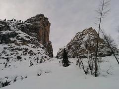 Aufstieg Skitour Großer Jaufen