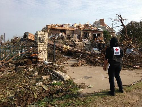 Red Cross tornado response in Granbury & Cleburne